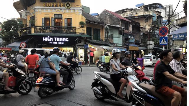 Dessiner les rues de la capitale vietnamienne
